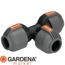 Соединитель Т-образный 25 мм Gardena 02771-20.000.00