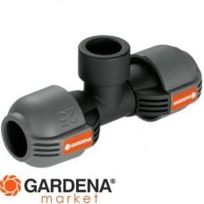 """Соединитель Т-образный с внутренней резьбой 25 мм x 3/4"""" Gardena 02790-20.000.00"""