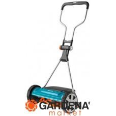 Газонокосилка барабанная механическая 400C Comfort (ширина 40см, 12-42мм, рукоятки эрго) Gardena 04022-20.000.00