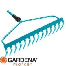 Грабли изогнутые 36 см (насадка для комбисистемы) Gardena 03168-20.000.00