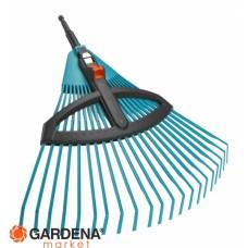 Грабли пластиковые регулируемые 03099-20.000.00 (старый код 03104-20.000.00) Gardena 03099-20.000.00