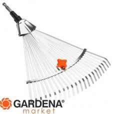 Грабли стальные веерные регулируемые (насадка для комбисистемы) Gardena 03103-20.000.00