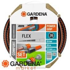 "Шланг FLEX 13 мм (1/2""), 20 м, с фитингами Gardena 18034-20.000.00"