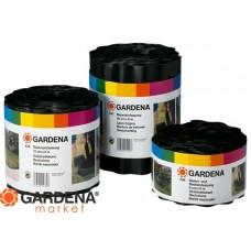 Бордюр черный 15 см, длина 9 м Gardena 00532-20.000.00