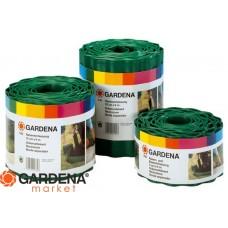 Бордюр зеленый 9 см, длина 9 м Gardena 00536-20.000.00