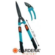 Комплект: Ножницы для живой изгороди механические телескопические Comfort 700 T + секатор Classic Gardena 00394-30.000.00