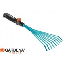 Грабли ручные 12 см  (ручной садовый инструмент / насадка для комбисистемы) Gardena 08919-20.000.00